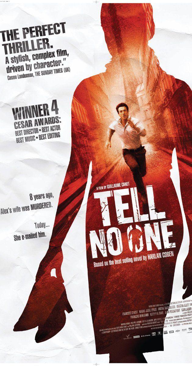 Tell No One 2006 Afiche De Pelicula Películas Francesas Cine
