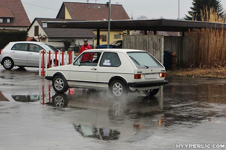 Seegefrörne Oldtimer Rallye 2015 in Meckenbeuren