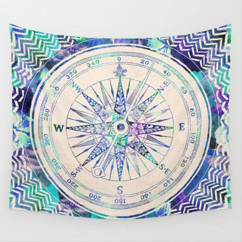 Vintage Indian Elephant Mandala Hippie Wall Hanging Tapestry Home Decor Throw…