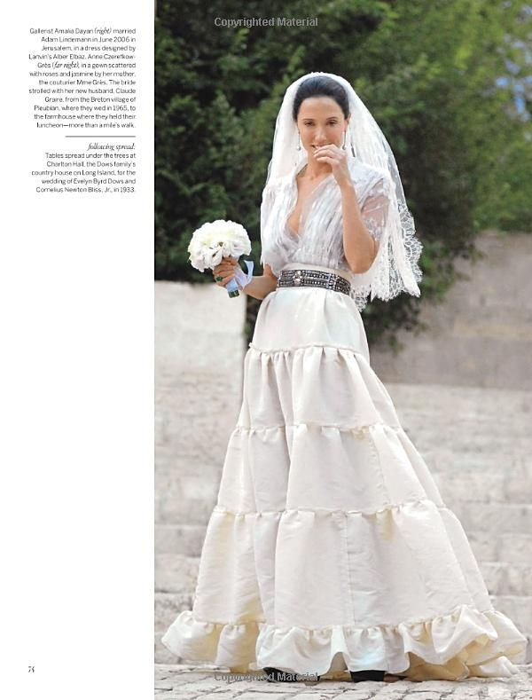 Alber Elbaz Amazing Dress Without The Veil Vogue Wedding