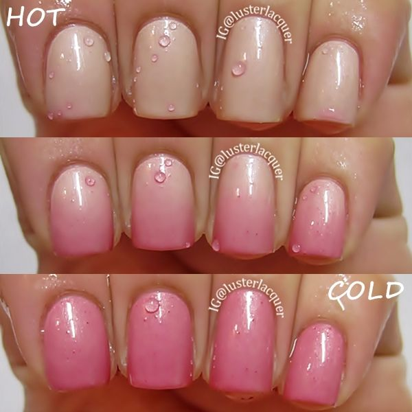 "Novel Nail Polish ""Summer Romance"" thermal polish"