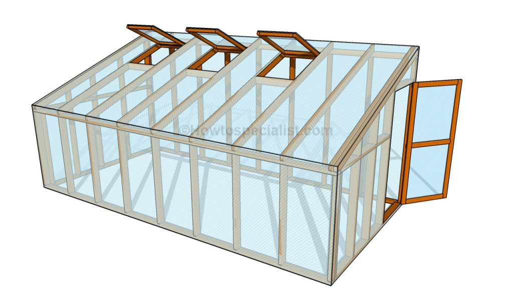 How to build a lean to greenhouse Lean to greenhouse