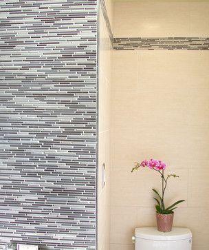 Contemporary Wall Tile schluter metal trim - contemporary - bathroom tile - san francisco