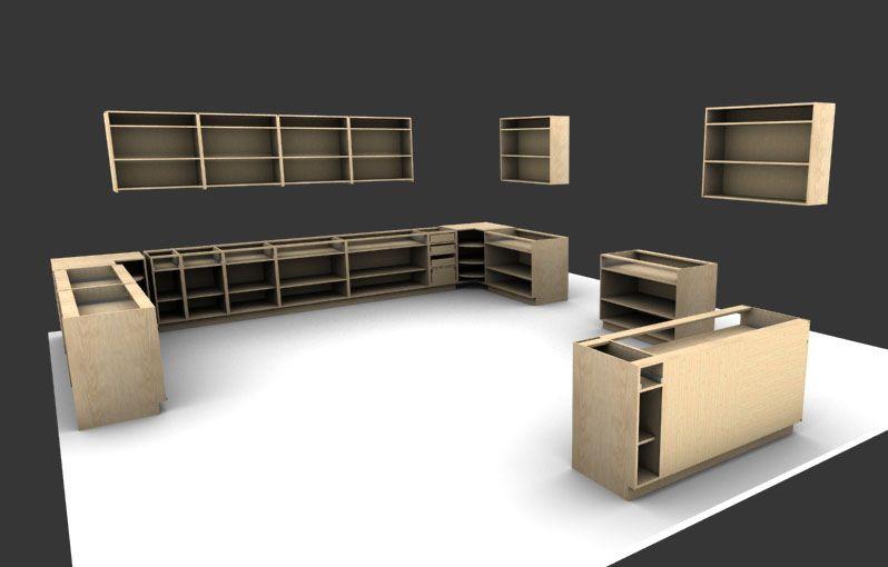 3D Max Kitchen Design