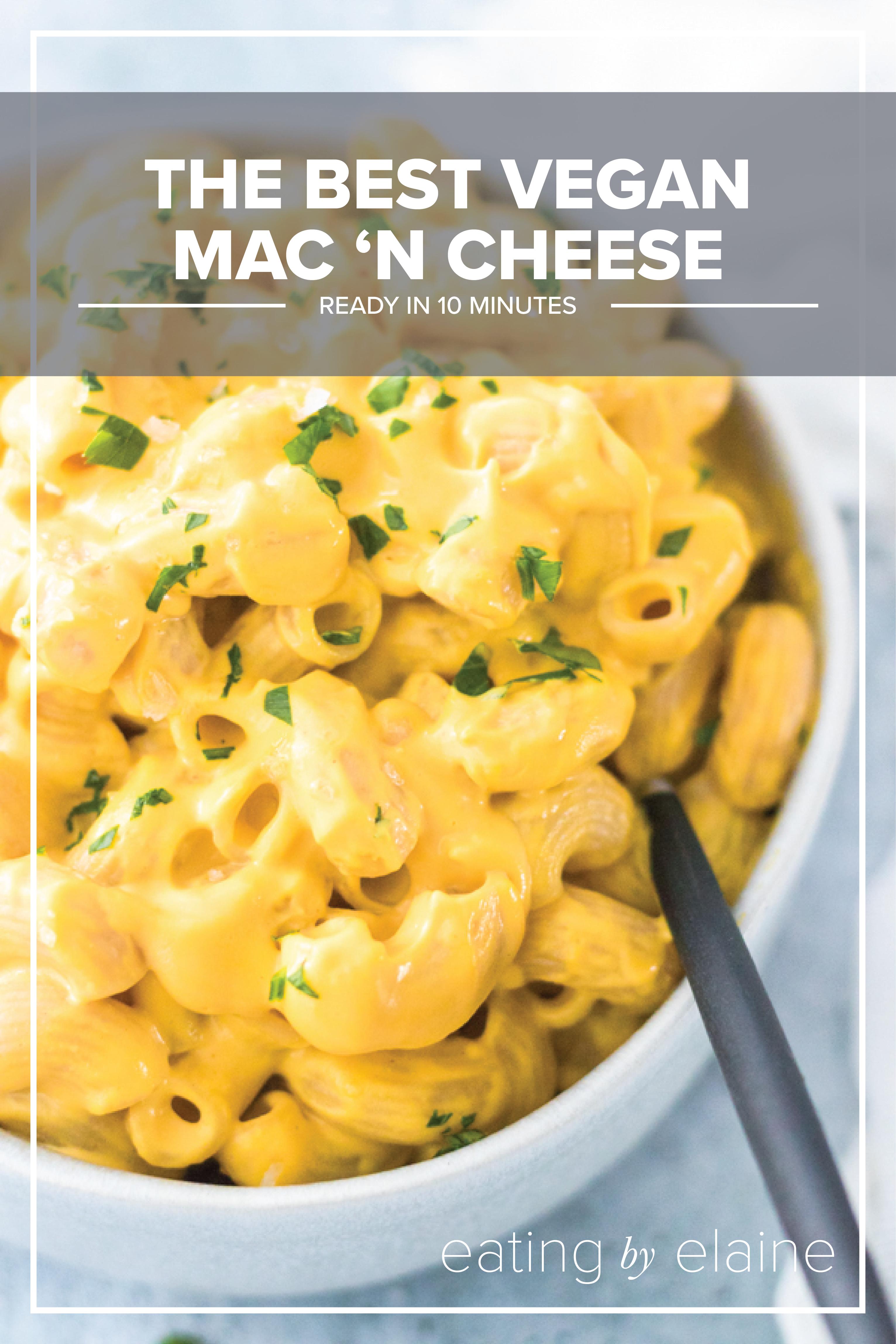 The Best Vegan Mac N Cheese In 2020 Vegan Mac N Cheese Whole Food Recipes Recipes