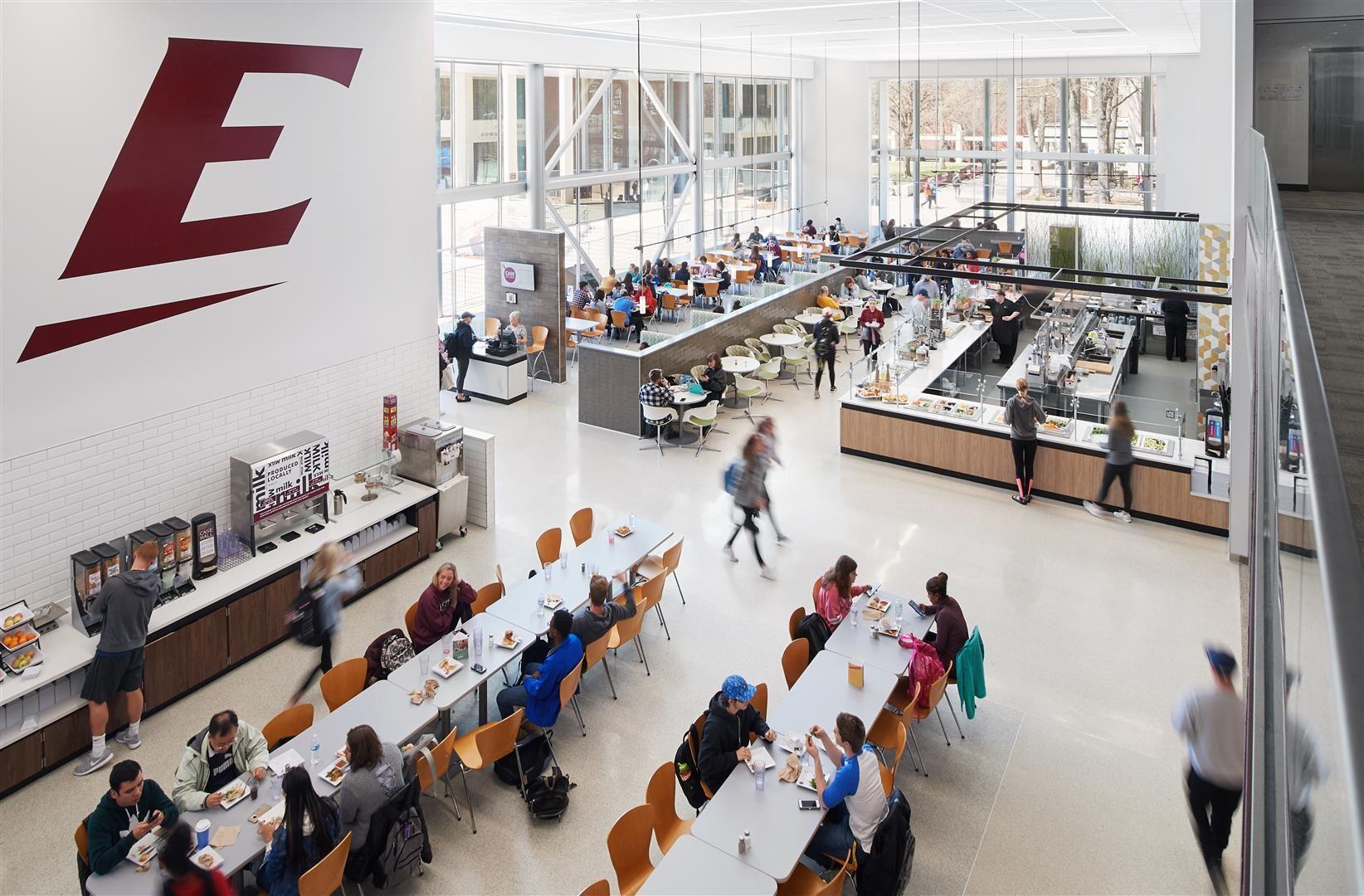 Eastern Kentucky University Case Dining Hall Eastern Kentucky