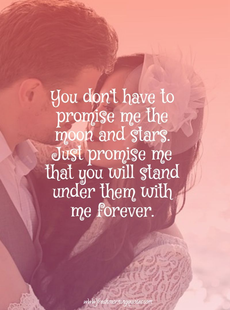 9+ Beautiful Promise Quotes for Your Sweetheart