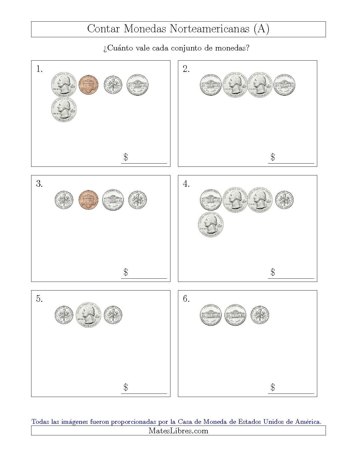 Contar Monedas 05 Sin Dolar Us 001 Pin