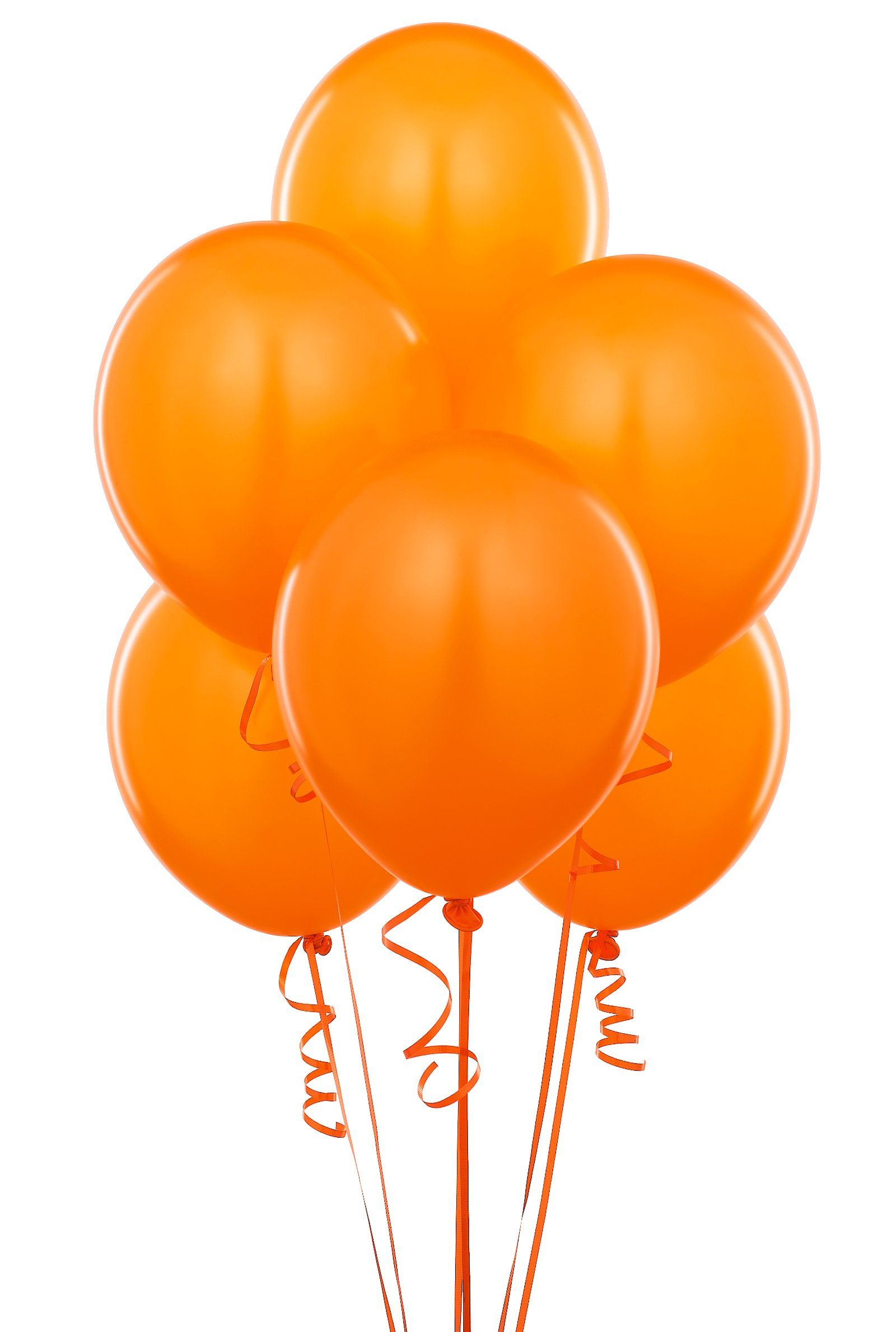 Orange Balloons With Images