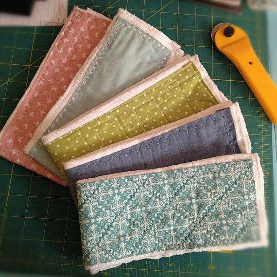 Five Cloth Diaper Burp Cloths by irelameg on Etsy, $30.00