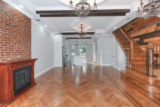 106 Harman St Brooklyn Ny 11221 Zillow Townhouse Large Bedroom Sweet Home