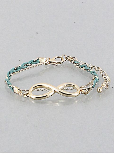Infinity Chain Bracelet from P.S. I Love You More