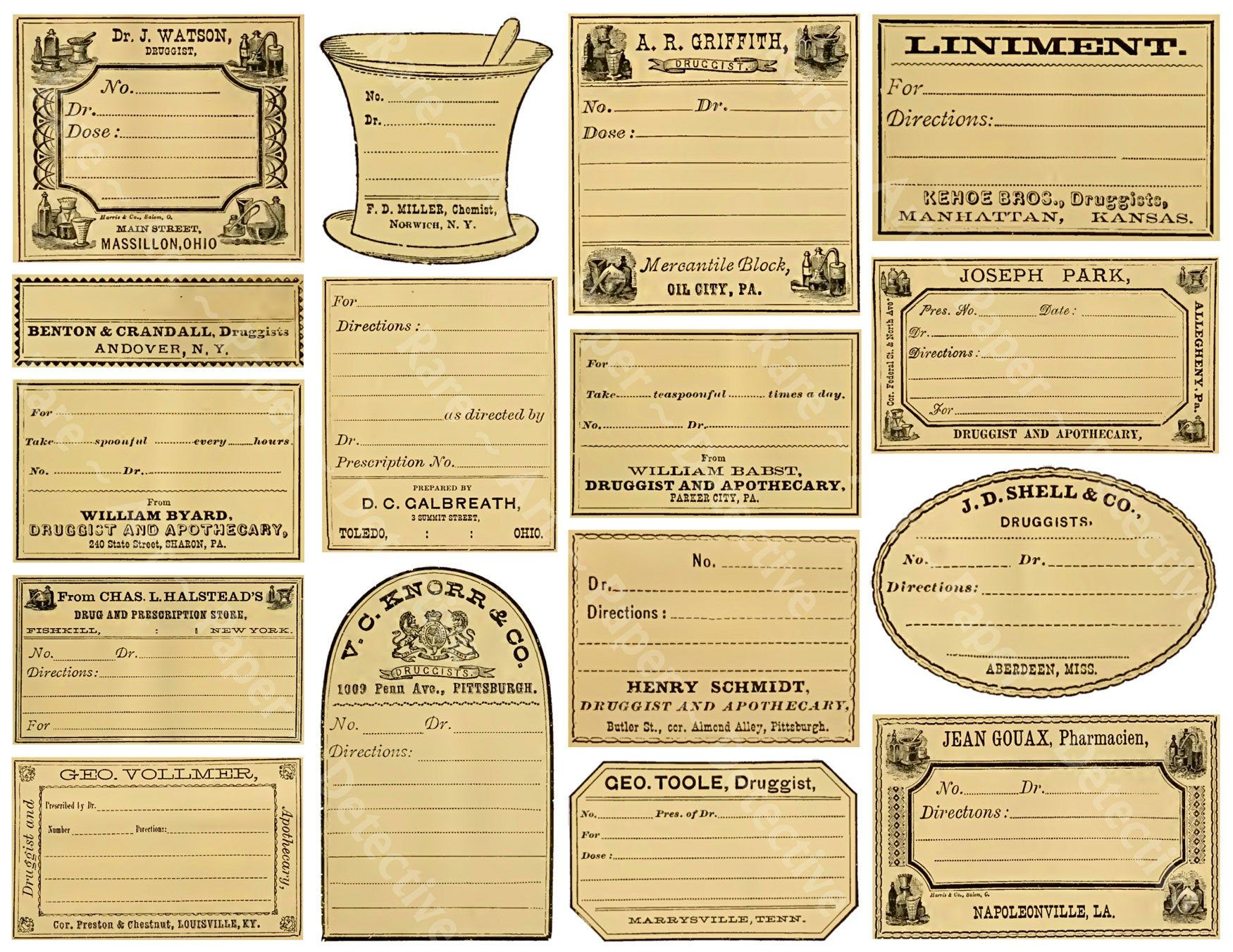 16 Blank Potion Labels Make Your Own Custom Halloween Etsy Potion Labels Jar Labels Halloween Apothecary Labels