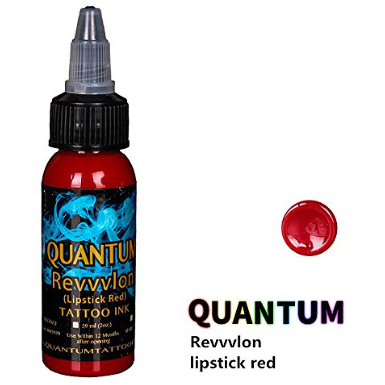 Quantum Tattoo Inks Revvvlon(Lipstick Red) 1oz Learn