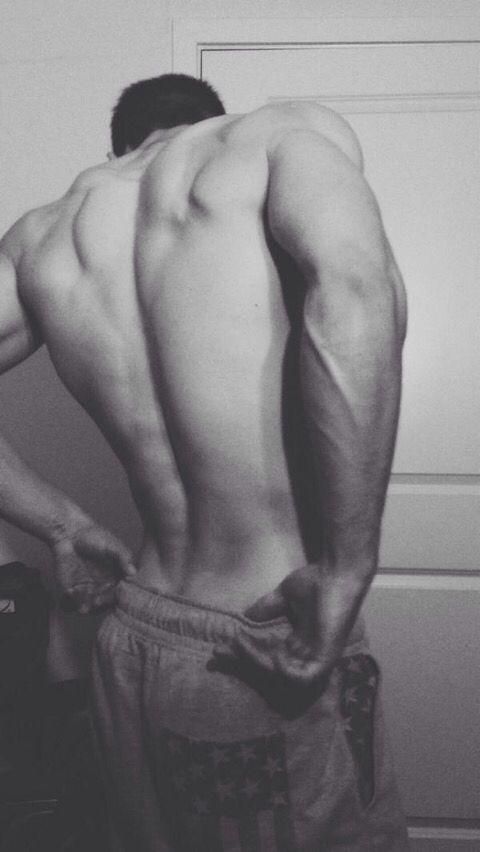 muscular backs attractive