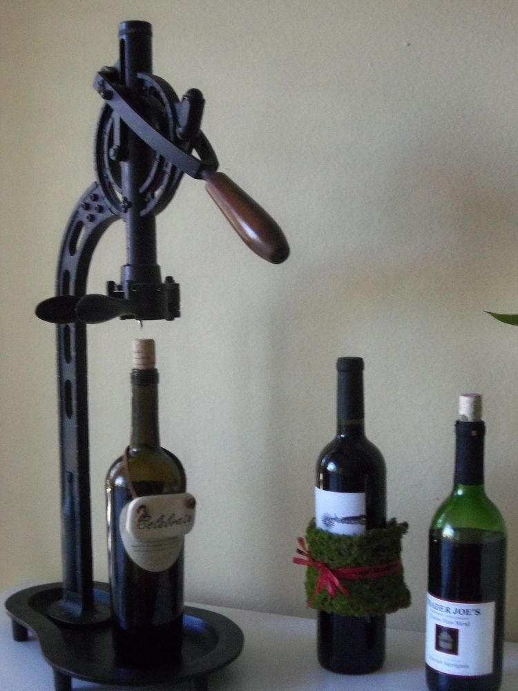 Pottery Barn Vinters Standing Tabletop Wine Opener