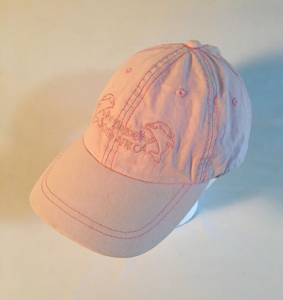 South Africa Port Elizabeth Pink BallCap Hat 88e126852a3