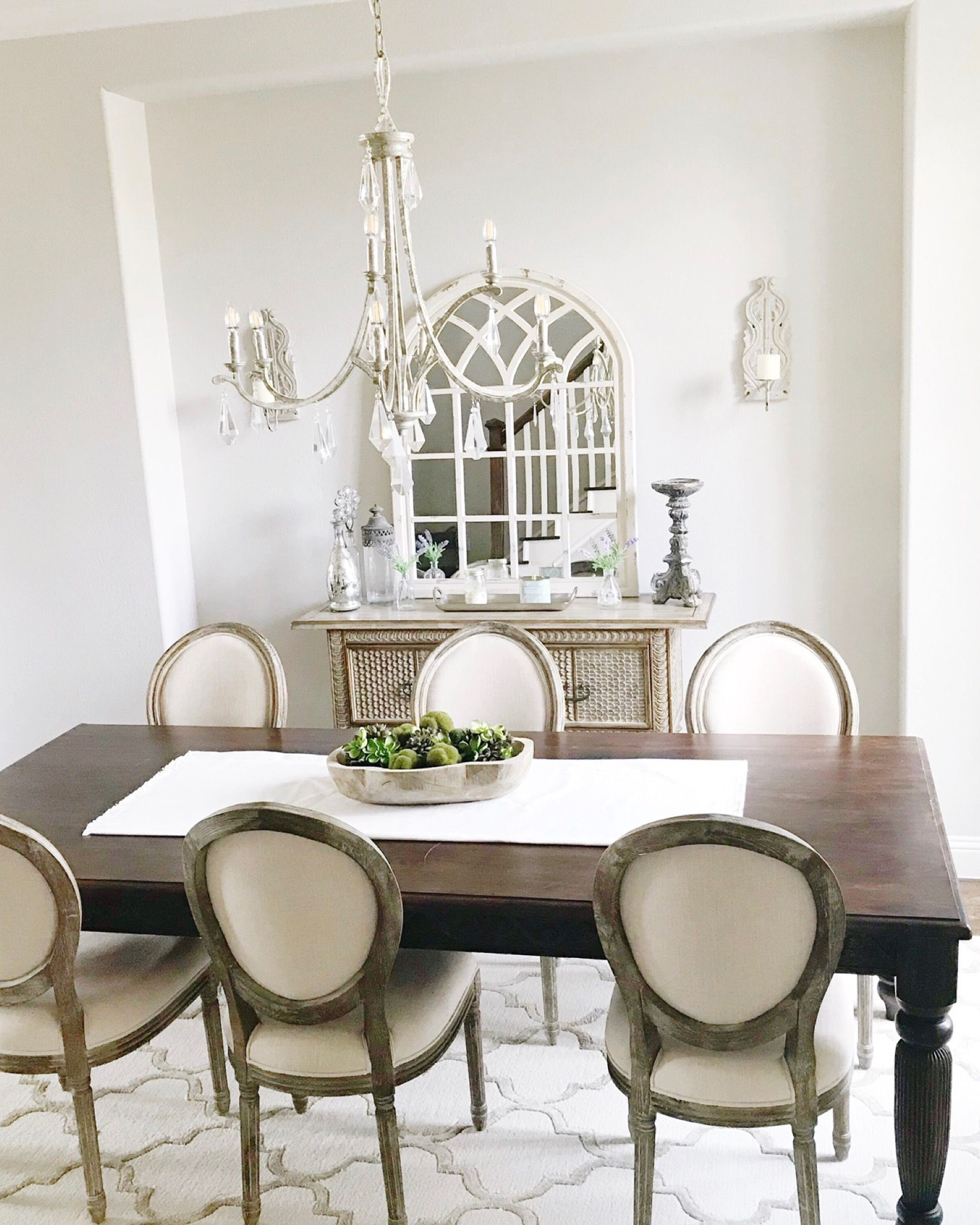 Mini Home Tour With Images Dark Brown Dining Table Brown