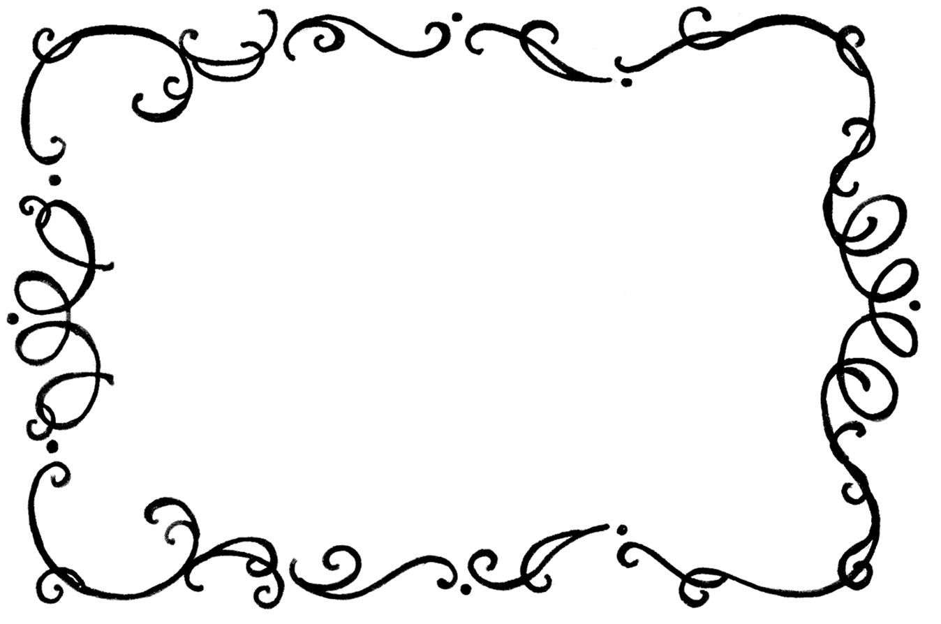 11++ Squiggly line border clipart information