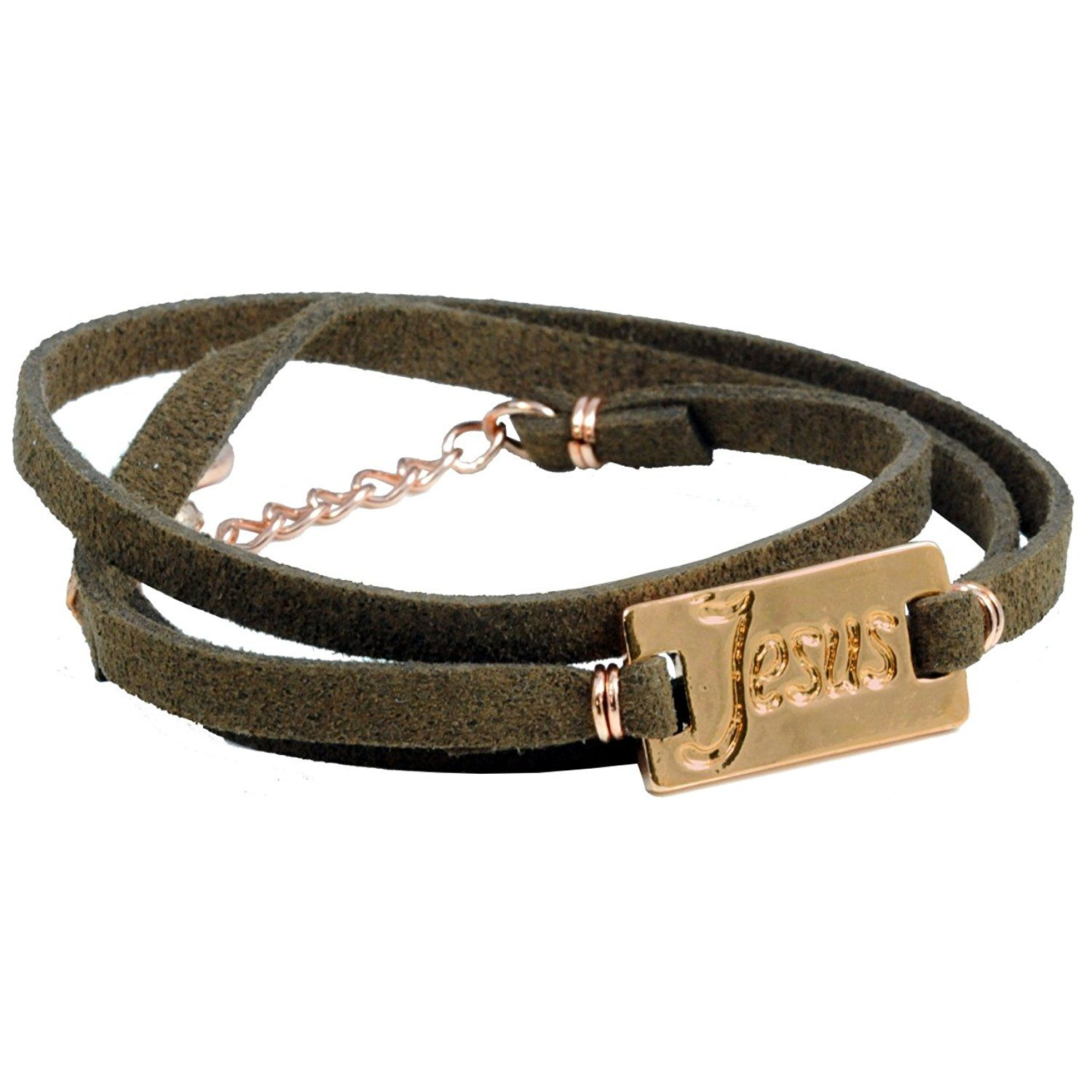 Jesus Leather Wrap Bracelet *** You can find out more details at the link of the image.
