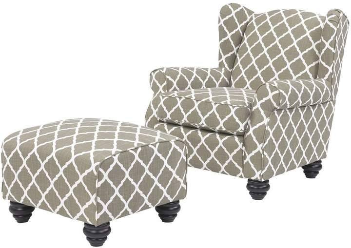 Alcott Hill Meltzer Armchair And Ottoman Products In