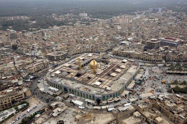 الحائر الحسيني من الجو Photo Aerial City Photo
