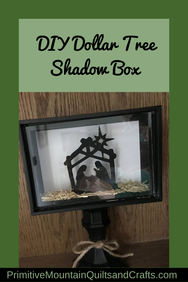 Dollar Tree Shadow Box : dollar, shadow, Dollar, Shadow, Primitive, Mountain, Quilts, Crafts, Frames,