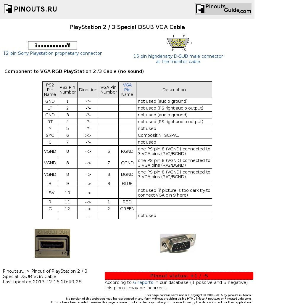 Afbeeldingsresultaat voor all data comp cable pinout | Electrical ...