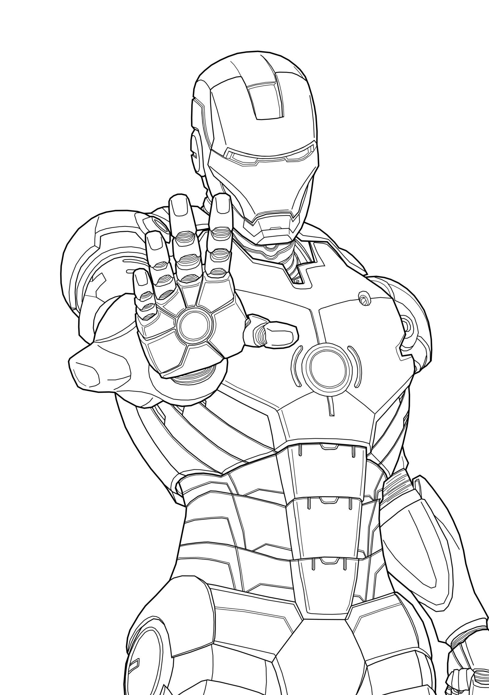 Iron man online coloring games - Iron Man Marvel Iron Man Coloring Pages Kids Iron Man Coloring Pages Free Printable For Adult