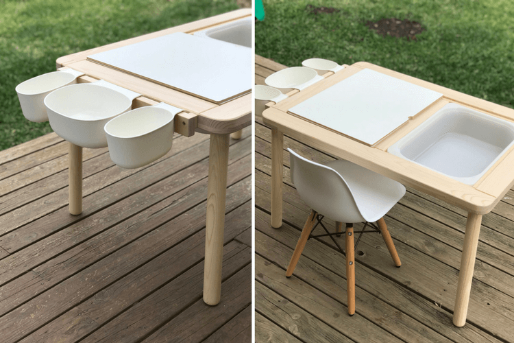 Upgrade The Flisat Children S Table With A Simple Mod Ikea Hackers Ikea Childrens Table Ikea Kids Table Childrens Table