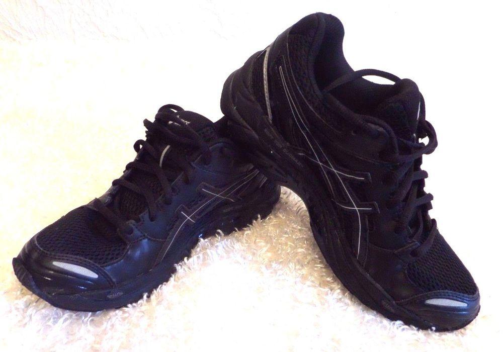 ffa04c54a9 Asics Gel-Tech Walker Neo 4 Women Walking Shoe Black-Silver-Q468N ...