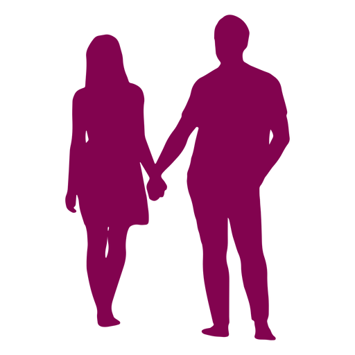Couple Standing Holding Hands Silhouette Couple Png Image Download As Svg Vector Transparent Png Eps Or Psd Us Hand Silhouette Couple Silhouette Silhouette