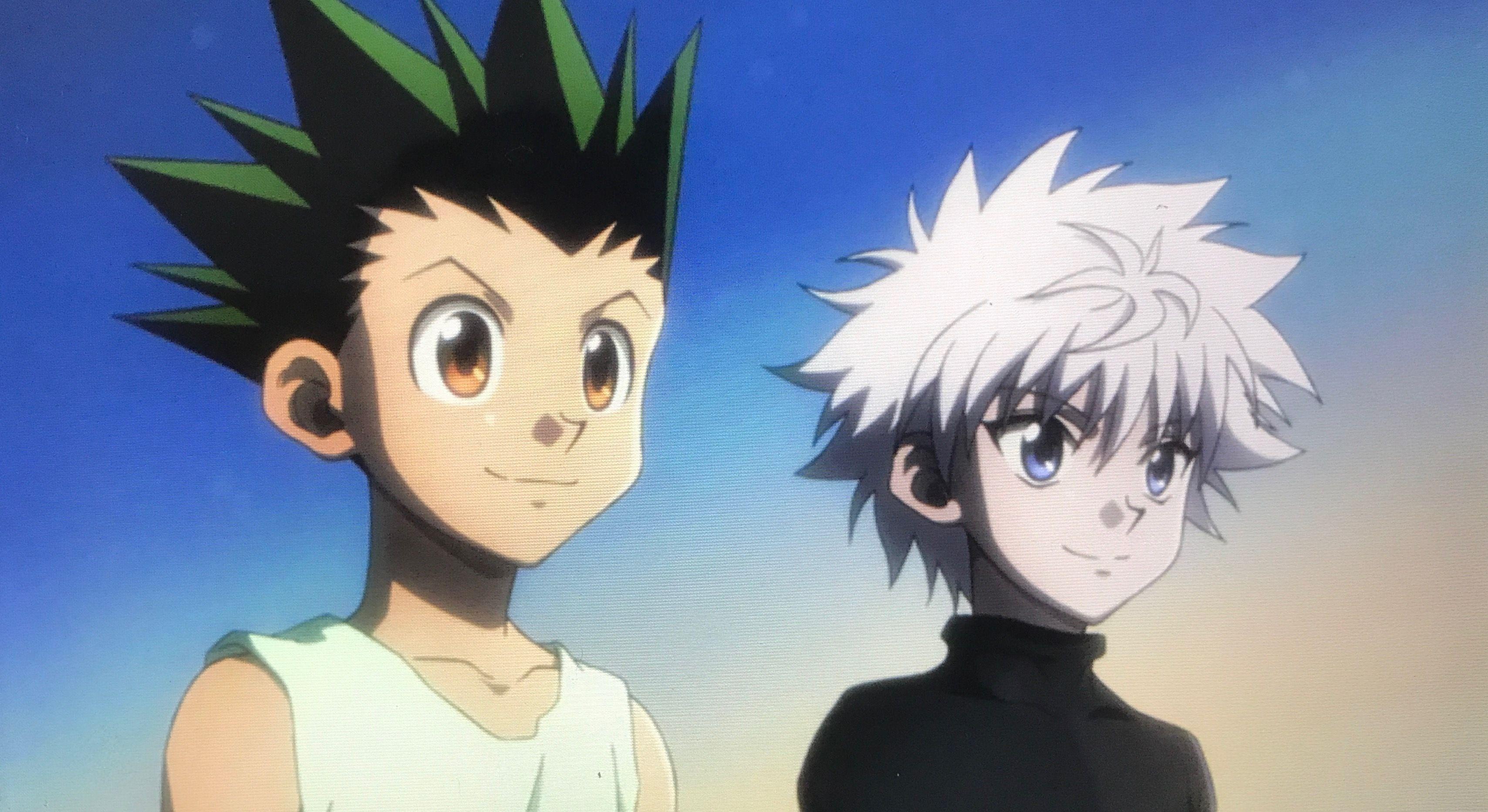 Killua and Gon Hunter anime, Hunter x hunter, Hunter