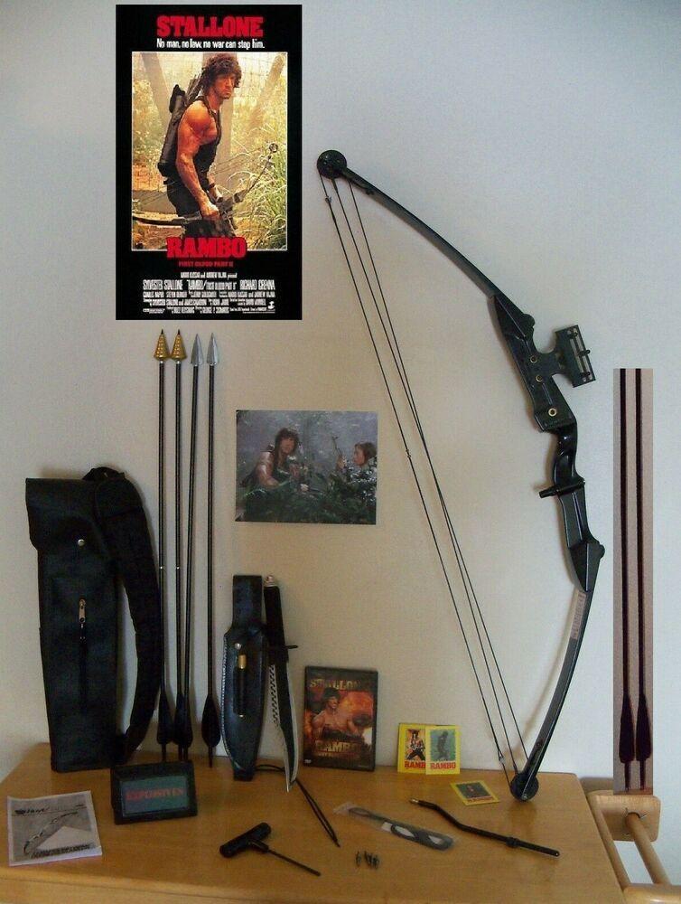 Advertisement(eBay) RAMBO 2 COMPOUND BOW SET  HOYT | Archery