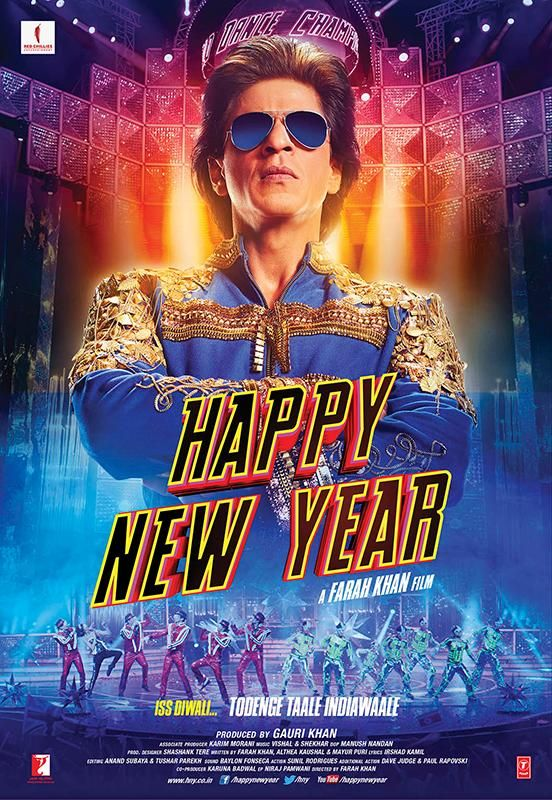 Happy New Year Movie Poster 12