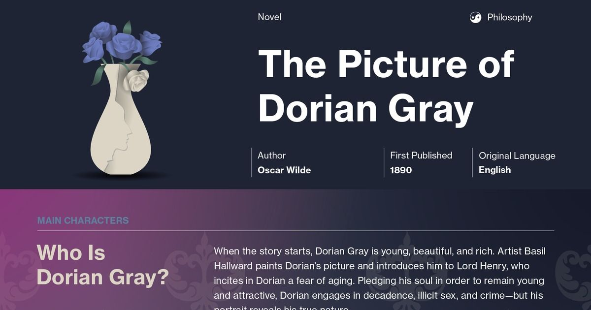 Picture of dorian gray essay