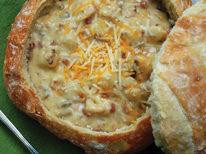 Gee jou gunstelinge ekstra oemf Sop en brood is perfekte pasmaats