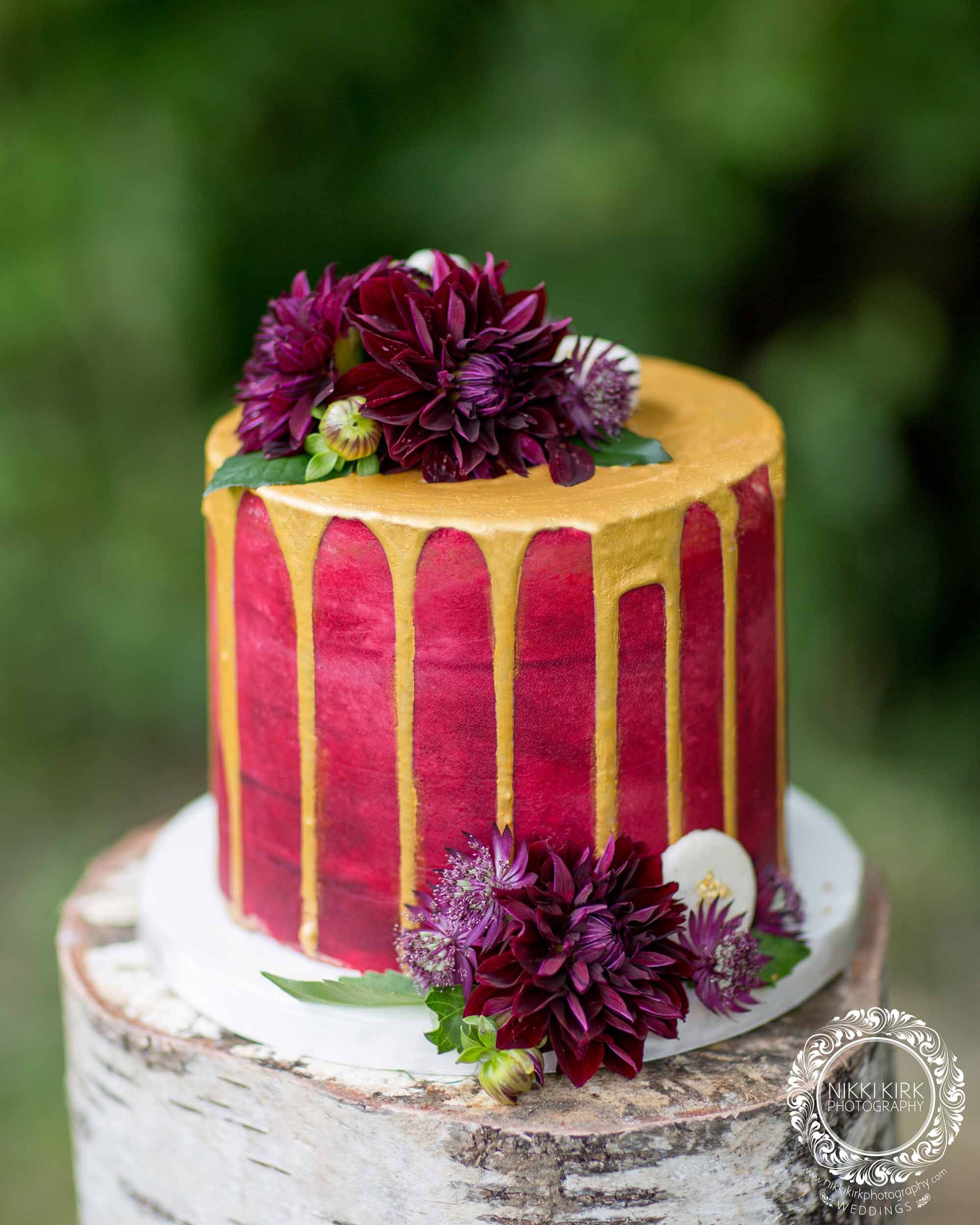 Gorgeous Drip Cake Image By Nikki Kirk Photography Cake By The - Cheltenham Wedding Cakes