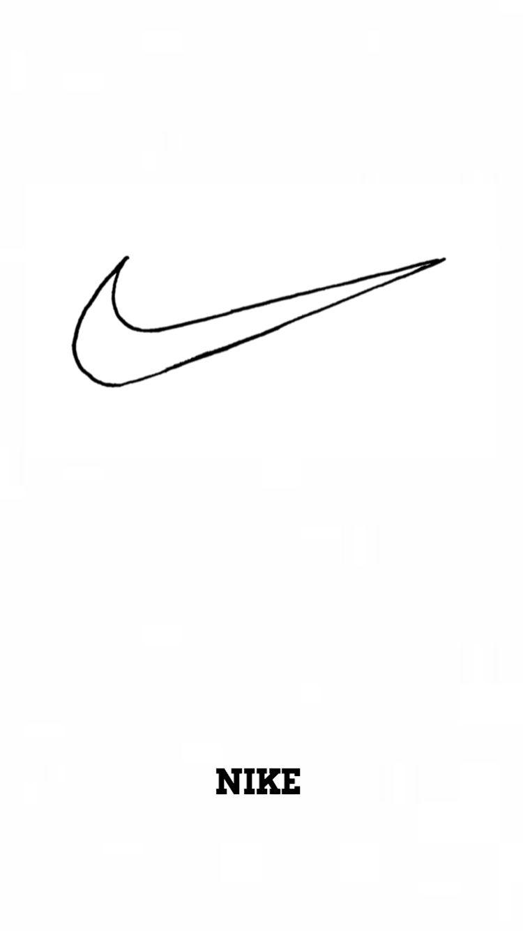 Nike iPhone Wallpaper   Bauch tattoos, Hintergrund iphone, Logo ...