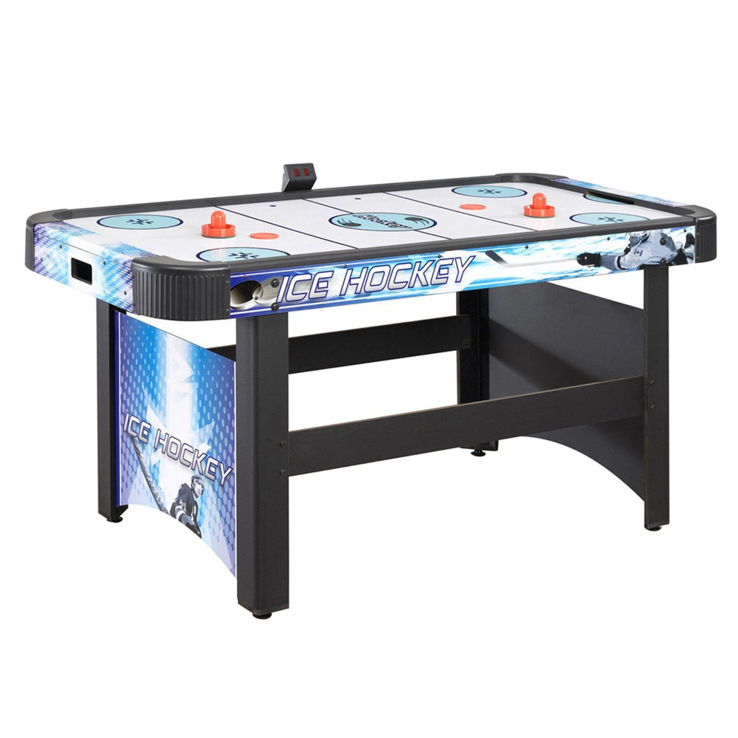 Hathaway 5 Face Off Air Hockey Table With Elec Scoring Game Room Family Air Hockey Air Hockey Table