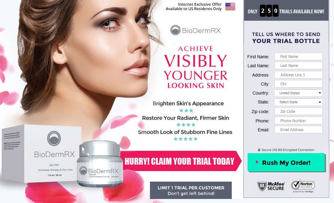BioDerm RX is an anti-aging skincare product that fulfills all the guarantees to bring back all glow, smoothness, and softness once your skin had. It is purely created of an ingredient which helps your skin to nourish and shield it from UV (ultra violet) rays of the sun. Grab this offer visit here:- http://a1healthbeautycare.com/bioderm-rx-reviews/