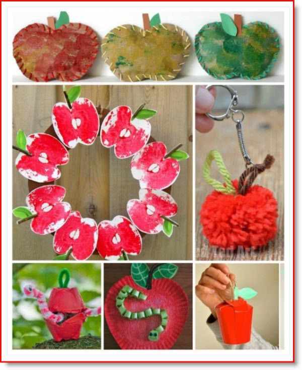 20 Apple Crafts For Fall Cookies And Brownies Recipe Crafts