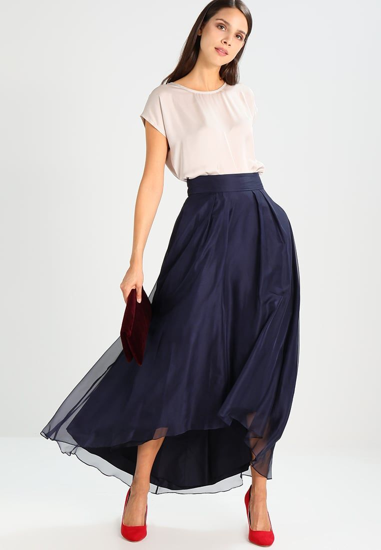 16a1f629ac ¡Consigue este tipo de falda larga de Coast ahora! Haz clic para ver los  detalles. Envíos gratis a toda España. Coast NEW IRIDESSA Falda larga dark  bleu  ...
