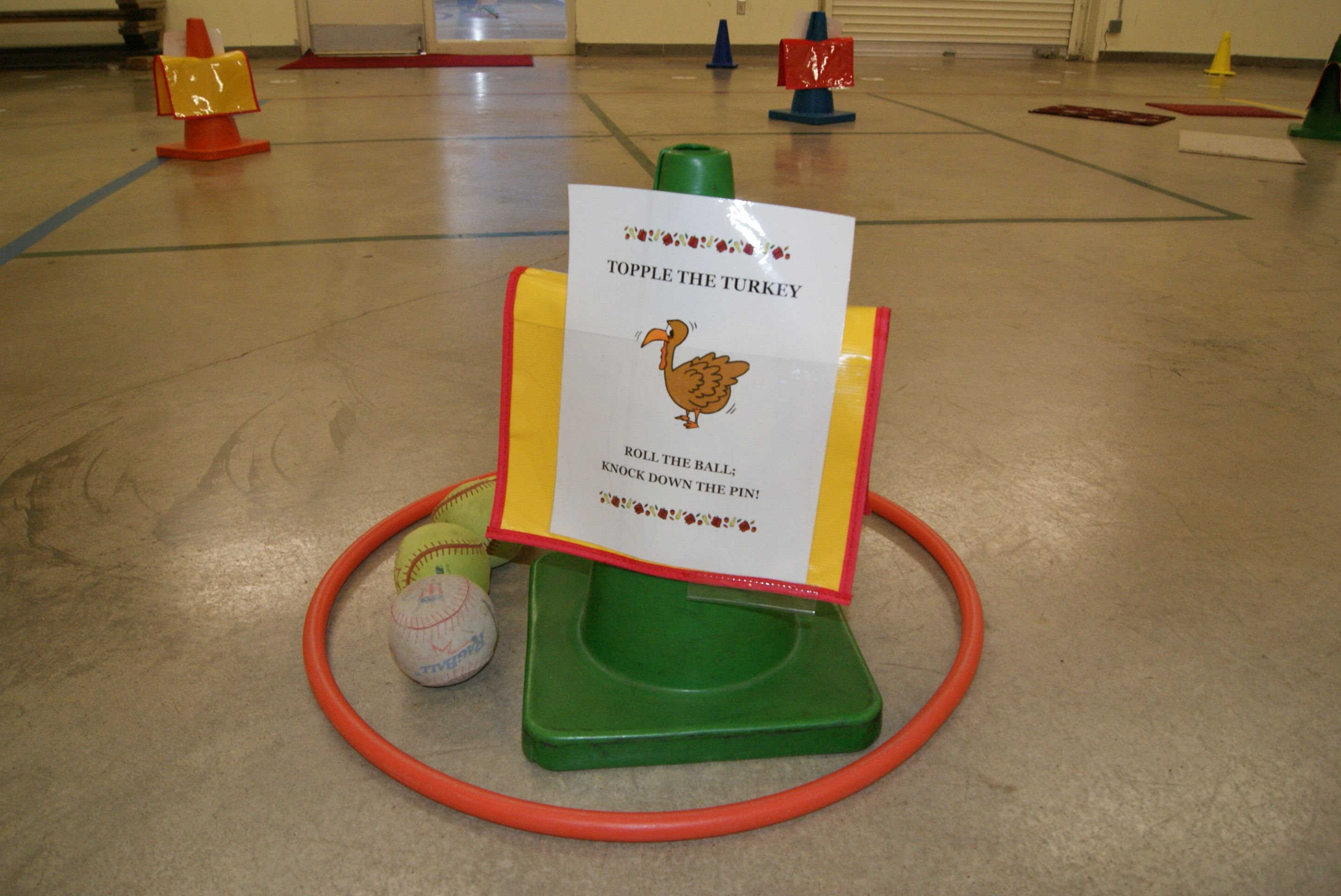 Topple The Turkey Physical Education