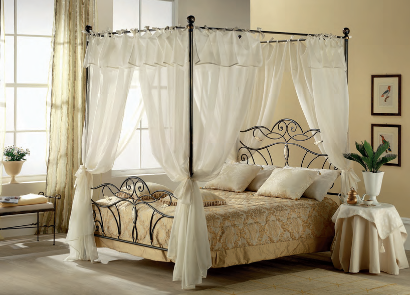 Letti A Baldacchino Maison Du Monde : Risultati immagini per letto a baldacchino bed canopy curtain