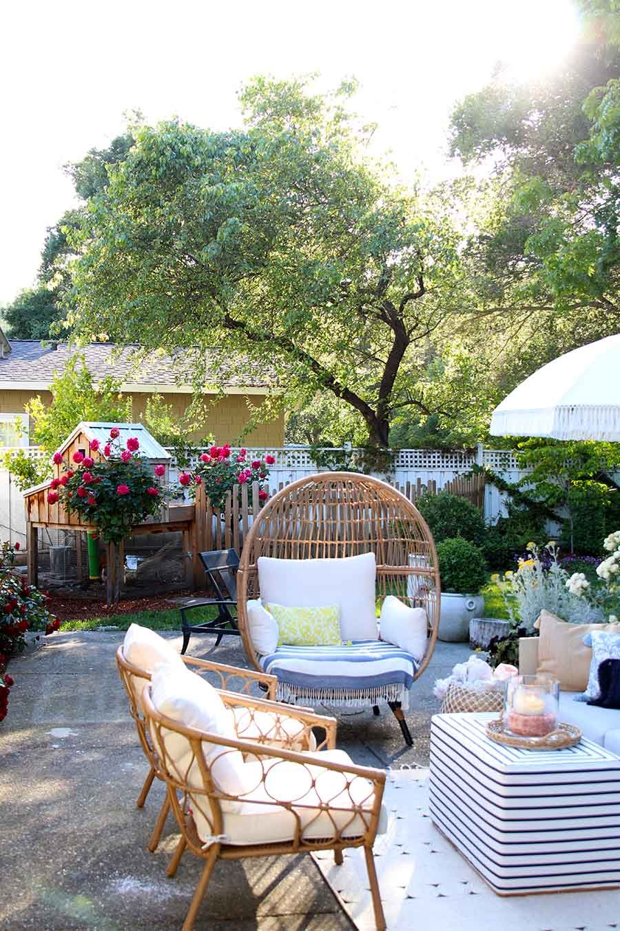 Outdoor decorating Ideas: My Summer Porch and Patio   Patio ...