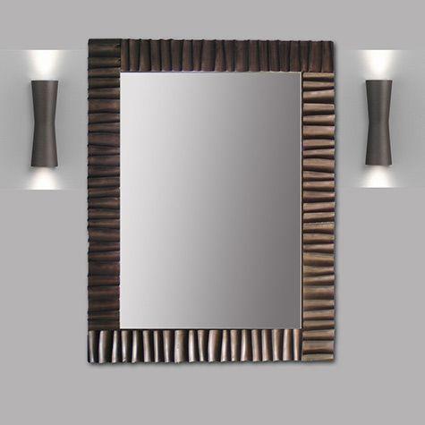 south swell mirror frame 32 x42 iron home decor interior design