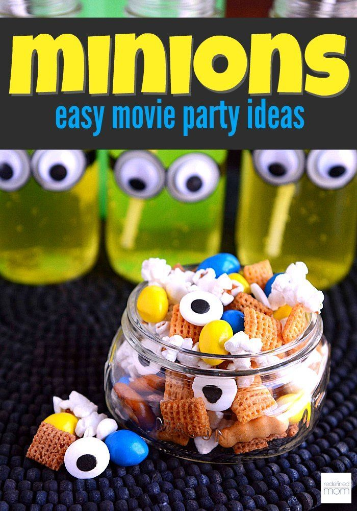 Easy Minions Movie Party Ideas | Minion party, Minions ...