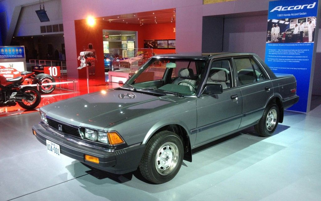 It S The 1982 Honda Accord First Ever Made