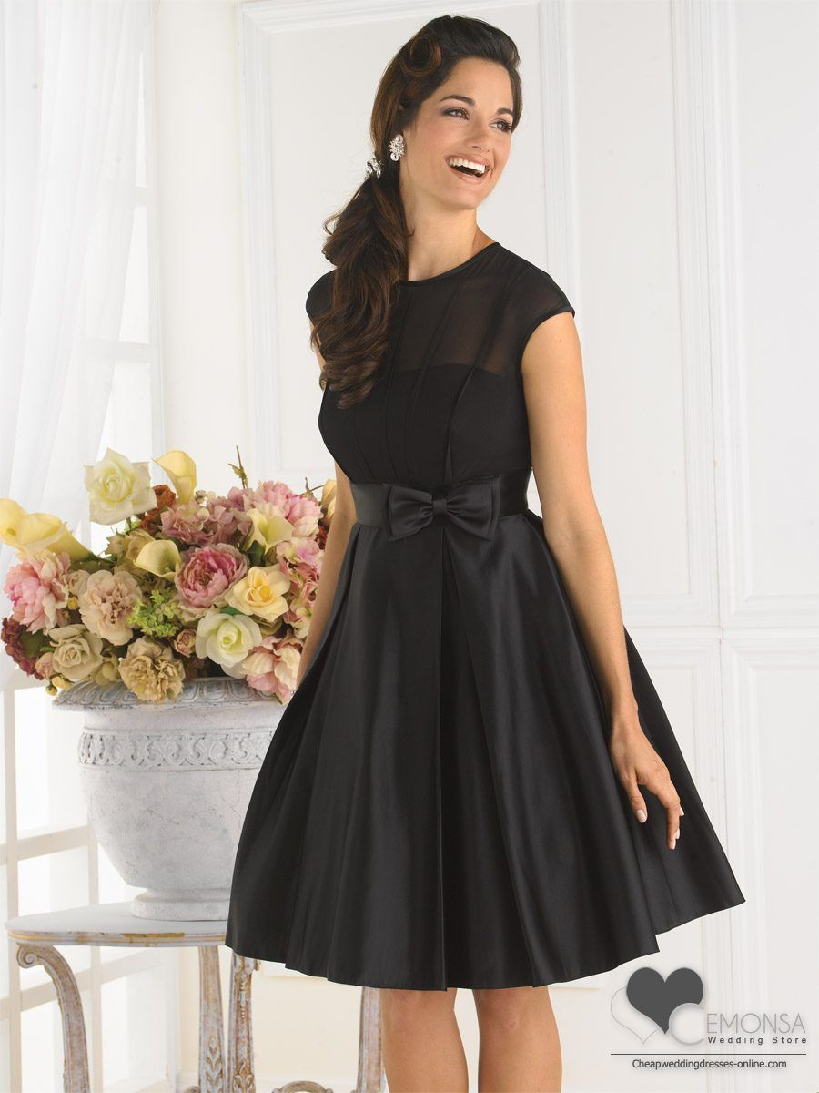 7abdba5058e tea length black formal dress plus size